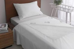 Kit Contains Linen Protector and Waterproof top Sheet
